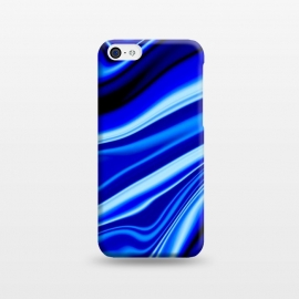 iPhone 5C  Electric Blue by Ashley Camille (wavy,vibrant)