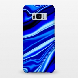 Galaxy S8+  Electric Blue by Ashley Camille (wavy,vibrant)