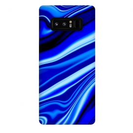Galaxy Note 8  Electric Blue by Ashley Camille (wavy,vibrant)