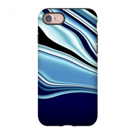 iPhone 8/7  Black and Blue by Ashley Camille