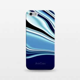 iPhone 5/5E/5s  Black and Blue by Ashley Camille (wavy)