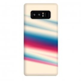 Galaxy Note 8  Retro by Ashley Camille (abstract,streak)