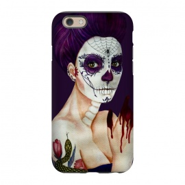 iPhone 6/6s  Sugar skull girl by Elena Terzi