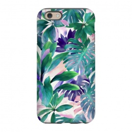 iPhone 6/6s  Pastel Summer Tropical Jungle by Micklyn Le Feuvre