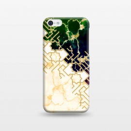 iPhone 5C  Marble and ocean by Kashmira Baheti
