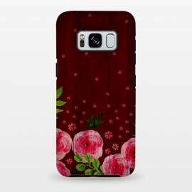 Galaxy S8+  Pink Wood by Rossy Villarreal