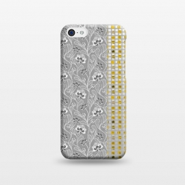 iPhone 5C  Lace and gold by Kashmira Baheti