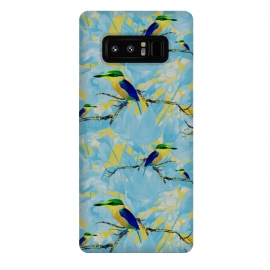 Galaxy Note 8  Cool kingfishers by Kashmira Baheti