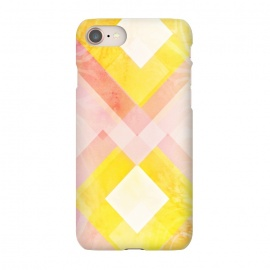 iPhone 8/7  Pink yellow pattern by Jms