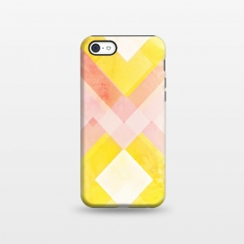 iPhone 5C  Pink yellow pattern by Jms