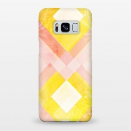 Galaxy S8+  Pink yellow pattern by Jms
