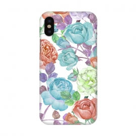 iPhone X  Breathless Rose by