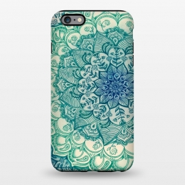 iPhone 6/6s plus  Emerald Doodle by Micklyn Le Feuvre