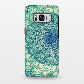 Galaxy S8+  Emerald Doodle by Micklyn Le Feuvre