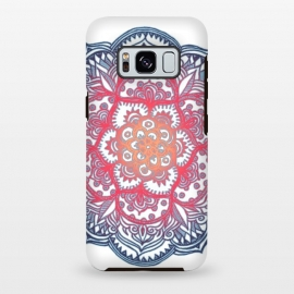 Galaxy S8 plus  Radiant Medallion Doodle by