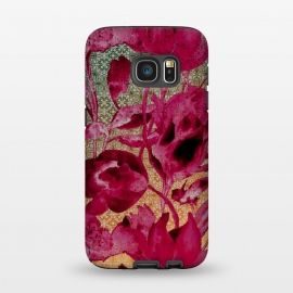 Galaxy S7  Lacey floral by Kashmira Baheti
