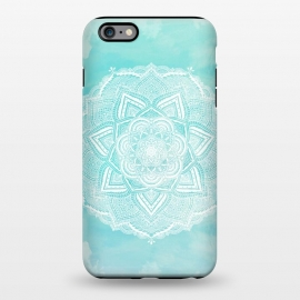 iPhone 6/6s plus  Mandala flower turquoise by Jms