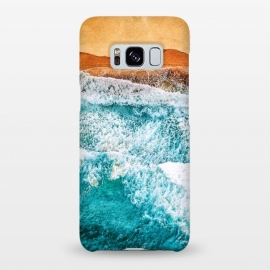Galaxy S8+  Tropical VI - Beach Waves II by Art Design Works