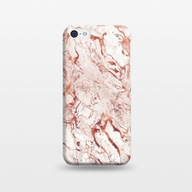 iPhone 5C  ROSE GOLD MARBLE by Art Design Works
