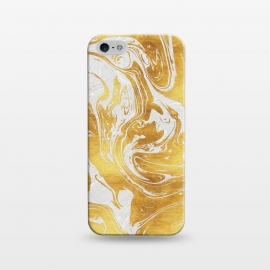 iPhone 5/5E/5s  White Dragon Marble by Art Design Works