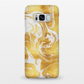 Galaxy S8+  White Dragon Marble by Art Design Works