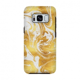 Galaxy S8  White Dragon Marble by Art Design Works
