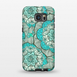 Galaxy S7 EDGE  Fresh Doodle in my Happy Colours by Micklyn Le Feuvre