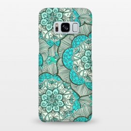 Galaxy S8+  Fresh Doodle in my Happy Colours by Micklyn Le Feuvre