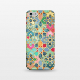 iPhone 5/5E/5s  Gilt & Glory - Colorful Moroccan Mosaic by Micklyn Le Feuvre