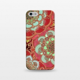 iPhone 5/5E/5s  Baroque Obsession 2 by Micklyn Le Feuvre