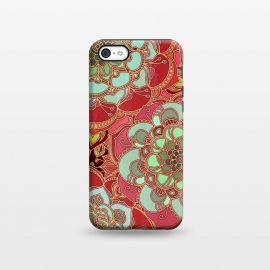 iPhone 5C  Baroque Obsession 2 by Micklyn Le Feuvre