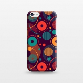 iPhone 5C  colorful rounded shapes by TMSarts