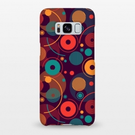 Galaxy S8+  colorful rounded shapes by TMSarts