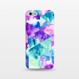 iPhone 5/5E/5s  Inky Hexagons by gingerlique