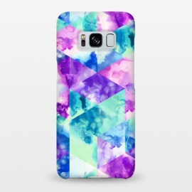 Galaxy S8+  Inky Hexagons by gingerlique