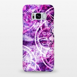 Galaxy S8+  Texture With Purple by Rossy Villarreal
