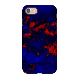 iPhone 8/7  Blue red abstract by Jms