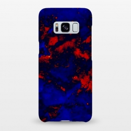 Galaxy S8+  Blue red abstract by Jms