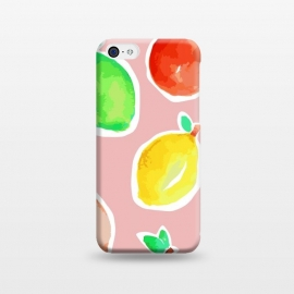 iPhone 5C  Lemon Crush 3 by MUKTA LATA BARUA (lemons, summer,pastel,pop art)