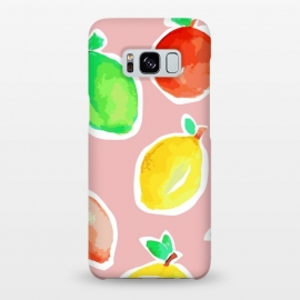 Galaxy S8+  Lemon Crush 3 by MUKTA LATA BARUA (lemons, summer,pastel,pop art)