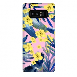 Galaxy Note 8  Tropical Flowers 3 by  (tropical, leaf, leaves, summer,pretty, beautiful)