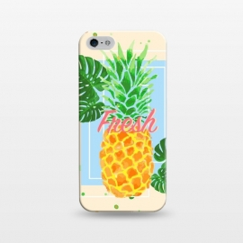iPhone 5/5E/5s  Pineapple Love 2 by MUKTA LATA BARUA (fruit, food, pineapple)