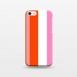 iPhone 5C  Colorful Stripes by MUKTA LATA BARUA (stripes,colors,colorful,summer)