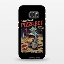 Galaxy S7 EDGE  Pizza Bot by Vincent Patrick Trinidad