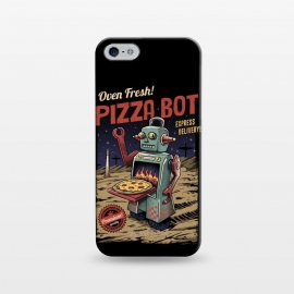 iPhone 5/5E/5s  Pizza Bot by Vincent Patrick Trinidad