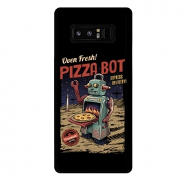 Galaxy Note 8  Pizza Bot by Vincent Patrick Trinidad