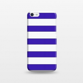 iPhone 5C  white purple stripes by Vincent Patrick Trinidad