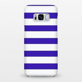 Galaxy S8+  white purple stripes by Vincent Patrick Trinidad