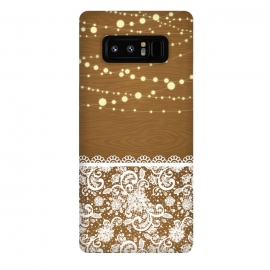 Galaxy Note 8  String Lights & Lace by Quirk It Up