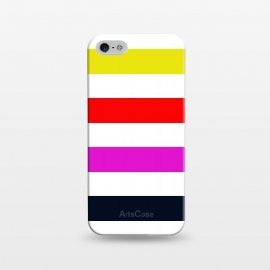 iPhone 5/5E/5s  rainbow stripes by Vincent Patrick Trinidad